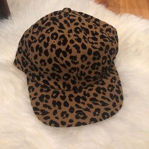 Accessories - Cheetah Print 5-Panel Hat